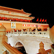 The Gate of Heavenly Peace at Tiananmen Square in the Forbidden City, Beijing, China