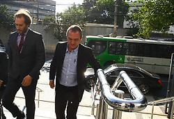 August 9, 2017 - O empresário Joesley Batista, chega à sede da Polícia Federal em São Paulo, na manhã desta quarta-feira (09), para depoimento. (Credit Image: © Aloisio Mauricio/Fotoarena via ZUMA Press)