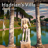 .<br /> <br /> If you prefer to buy from our ALAMY PHOTO LIBRARY  Collection visit : https://www.alamy.com/portfolio/paul-williams-funkystock/hadrians-villa-tivoli.html<br /> Visit our CLASSICAL WORLD HISTORIC SITES PHOTO COLLECTIONS for more photos to buy as buy as wall art prints https://funkystock.photoshelter.com/gallery-collection/Classical-Era-Historic-Sites-Archaeological-Sites-Pictures-Images/C0000g4bSGiDL9rw