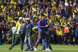 July 5, 2018 - Fans invading the field to greet the player of the Colombian team, Falcao García (Credit Image: © Daniel AndréS GarzóN Heraz via ZUMA Wire)