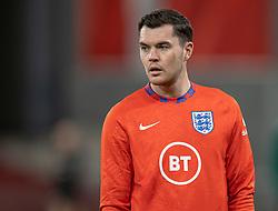 Michael Keane (England) under UEFA Nations League kampen mellem Danmark og England den 8. september 2020 i Parken, København (Foto: Claus Birch).