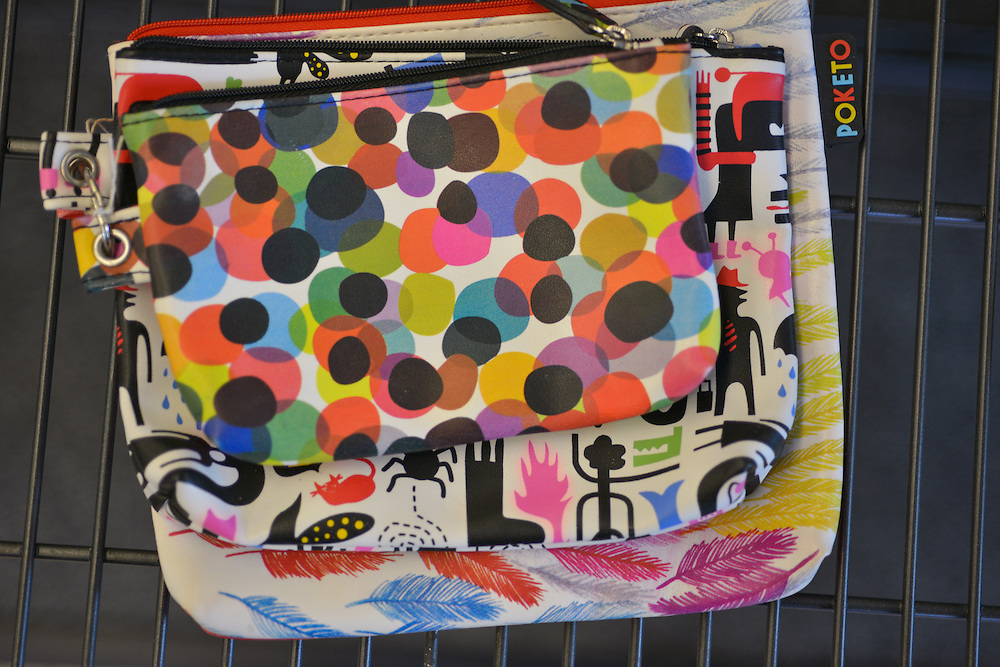 Purse and bags at blue boutique in Downtown Akron