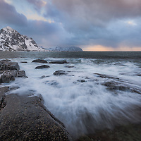 To say Lofoten's weather was varied and unpredictable would be a vast understatement! Of course, all that wild weather created some very dramatic skies.<br /> Taken in Varied, Nordland, Norway.