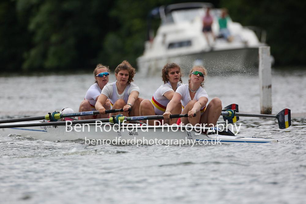 Junior 4+  Heat<br /> <br /> Headington School <br /> Tideway Scullers School <br /> <br /> Henley Women's Regatta 2021<br /> Saturday