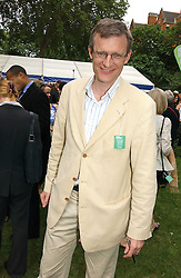 JEREMY VINE at the annual Macmillan Cancer Support House of Lords vs the House of Commons Tug of War held in Victoria Tower Gardens on 20th June 2006.<br /><br />NON EXCLUSIVE - WORLD RIGHTS