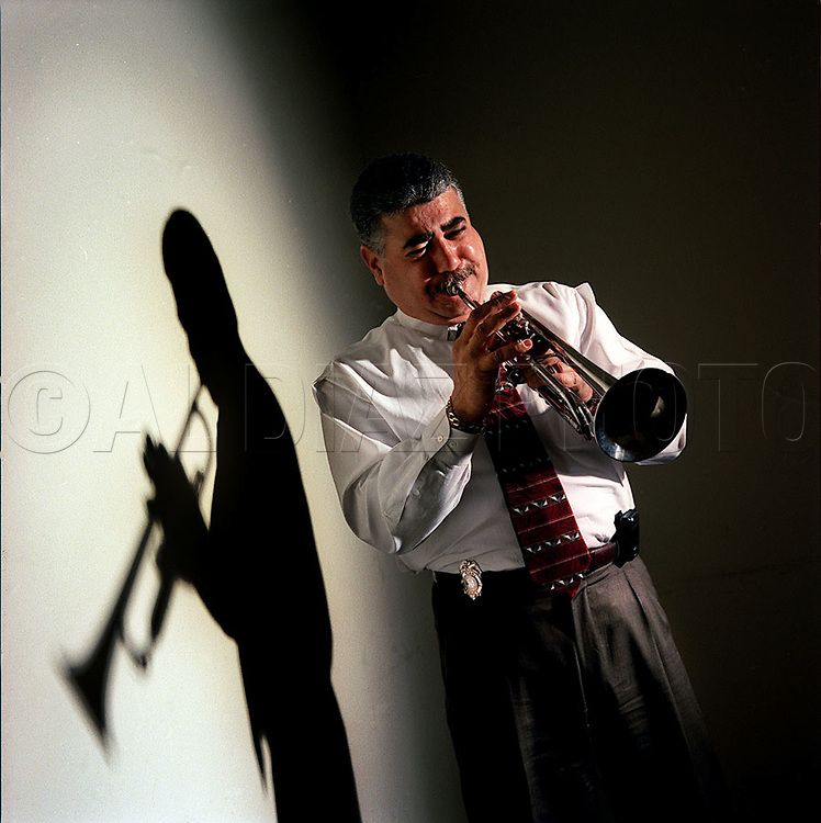 As therapy, City of Miami Police Homicide Detective Frank Castillo locks himself in a room and plays his trumpet in solitude.