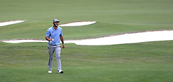 May 4, 2019 - Charlotte, NC, USA - Max Homa smiles as he walks up the 5th fairway after hitting his second shot at Quail Hollow Club in Charlotte, N.C., during third-round action of the Wells Fargo Championship on Saturday, May 4, 2019. (Credit Image: © TNS via ZUMA Wire)