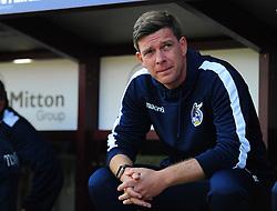 Darrell Clarke manager of Bristol Rovers - Mandatory by-line: Alex James/JMP - 17/09/2016 - FOOTBALL - Coral Windows Stadium - Bradford, England - Bradford City v Bristol Rovers - Sky Bet League One