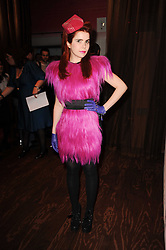 PALOMA FAITH at a party to celebrate the launch of the Nokia X6 16GB phone held at Sketch, 9 Conduit Street, London on 3rd March 2010.