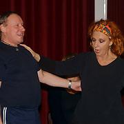1e Repetitiedag de Jantjes, cast, Carrie Tefsen en Dick Schaar