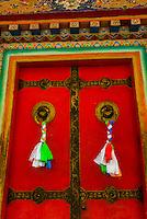 Tashilhunpo Monastery, Shigatse, the second largest city in Tibet (Xizang), China.