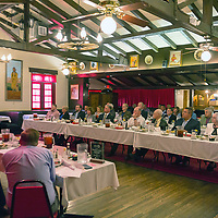 Local business owners gather at the El Rancho Hotel for the annual GGEDC Business Retention and Expansion Luncheon, Monday.
