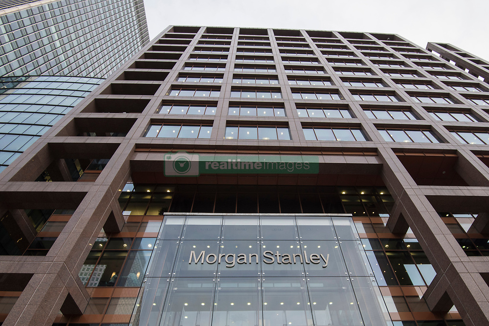 General view of Morgan Stanley's UK headquarters, in Canary Wharf, London. The bank is one of several rumoured to be planning a move to Frankfurt after the UK's decision to leave the European Union. PRESS ASSOCIATION Photo. Picture date: Wednesday November 23rd, 2016. Photo credit should read: Matt Crossick/PA Wire