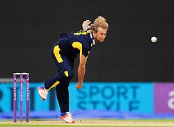Gareth Berg of Hampshire bowls.  - Mandatory by-line: Alex Davidson/JMP - 02/08/2016 - CRICKET - The Ageas Bowl - Southampton, United Kingdom - Hampshire v Somerset - Royal London One Day