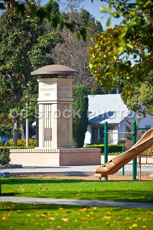 George Washington Park in Anaheim