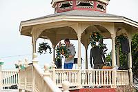 Jen and Tony's Wedding Day.  Prepping.  York, Maine.  ©2015 Karen Bobotas Photographer