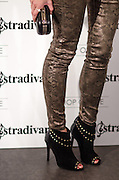 "Leigh Lezark in Stradivarius store for the collection ""Fiesta'12 party  in Madrid"