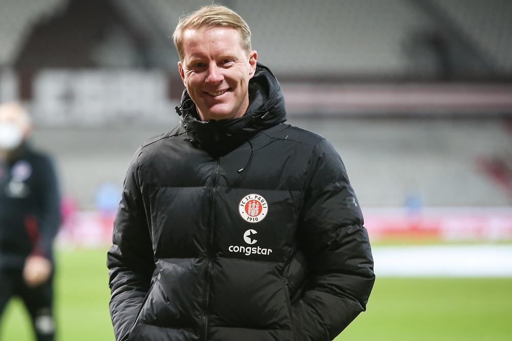Fussball: 2. Bundesliga, FC St. Pauli - VFL Bochum, Hamburg, 28.01.2021<br /> Trainer Timo Schultz (Pauli)<br /> © Torsten Helmke
