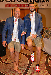 16.07.2016, Hotel Mariott, Wien, AUT, Olympia, Rio 2016, Einkleidung OeOC, im Bild Alexander Horst und Clemens Doppler // during the outfitting of the Austrian National Olympic Committee for Rio 2016 at the Hotel Mariott in Wien, Austria on 2016/07/16. EXPA Pictures © 2016, PhotoCredit: EXPA/ Erich Spiess