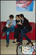 ANDREA-LUCA MINA;  AMALEISA STEVENS: LUCA KHALIL, James Franco exhibition 'Fat Squirrel' at Siegfried Contemporary, Basset Rd, London W10. 23 November 2014.