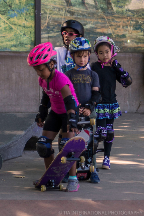 """Skate Like A Girl"" Skating Course, Seattle Center"