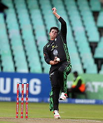 Robbie Frylinck of Hollywoodbets Dolphins during the T20 Challenge cricket match between the Hollywoodbets Dolphins and VKB Knights  at the Kingsmead stadium in Durban, KwaZulu Natal, South Africa on the 11 Dec 2016<br /> <br /> Photo by:   Steve Haag / Real Time Images
