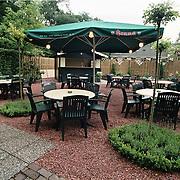 Restaurant 't Jagerhuis Dorpstraat Lage Vuursche, achterterras