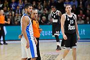 DESCRIZIONE : Eurolega Euroleague 2014/15 Gir.A Dinamo Banco di Sardegna Sassari - Real Madrid<br /> GIOCATORE : Massimo Chessa Fernando Rocha<br /> CATEGORIA : Fair Play<br /> SQUADRA : Arbitro Referee<br /> EVENTO : Eurolega Euroleague 2014/2015<br /> GARA : Dinamo Banco di Sardegna Sassari - Real Madrid<br /> DATA : 12/12/2014<br /> SPORT : Pallacanestro <br /> AUTORE : Agenzia Ciamillo-Castoria / Luigi Canu<br /> Galleria : Eurolega Euroleague 2014/2015<br /> Fotonotizia : Eurolega Euroleague 2014/15 Gir.A Dinamo Banco di Sardegna Sassari - Real Madrid<br /> Predefinita :