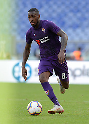October 7, 2018 - Rome, Italy - Gerson Santos during the Italian Serie A football match between S.S. Lazio and Fiorentina at the Olympic Stadium in Rome, on october 07, 2018. (Credit Image: © Silvia Lore/NurPhoto/ZUMA Press)