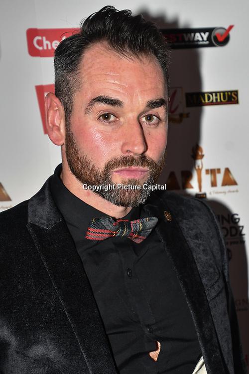 Ben Jardine attend at Asian Restaurant & Takeaway Awards   ARTA 2018 at InterContinental London - The O2, London, UK. 30 September 2018.