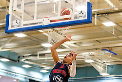 Tevin Falzon of Bristol Flyers shoots - Photo mandatory by-line: Robbie Stephenson/JMP - 10/04/2019 - BASKETBALL - UEL Sports Dock - London, England - London Lions v Bristol Flyers - British Basketball League Championship