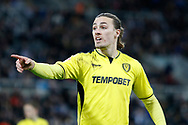 Burton Albion midfielder Jackson Irvine (36) during the EFL Sky Bet Championship match between Newcastle United and Burton Albion at St. James's Park, Newcastle, England on 5 April 2017. Photo by Richard Holmes.