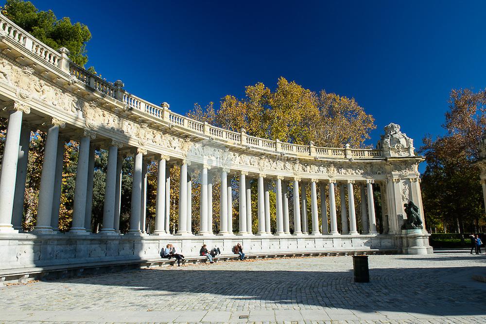 Monumento Alfonso XII. Parque del Retiro. Madrid, Comunidad de Madrid. España. Europa ©Tomás Calle / PILAR REVILLA