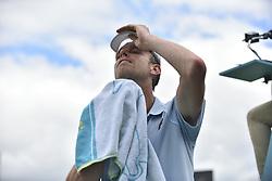 June 20, 2018 - London, United Kingdom - Stan Wawrinka of Switzerland in the second round singles match on day three of Fever Tree Championships at Queen's Club, London on June 20, 2018. (Credit Image: © Alberto Pezzali/NurPhoto via ZUMA Press)