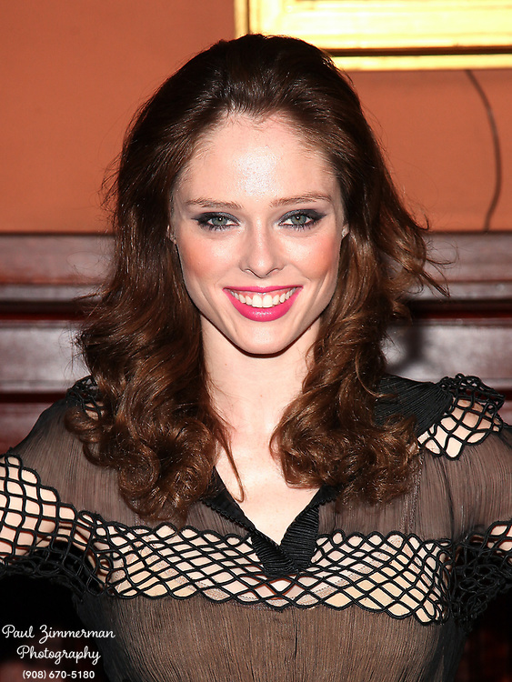 NEW YORK, NY - MARCH 17:  Coco Rocha attends the Lycee Francais de New York 2012 gala at the Park Avenue Armory on March 17, 2012 in New York City.  (Photo by Paul Zimmerman/WireImage)