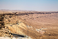 Makhtesh Ramon, Arod lookout. Belvedere di Makhtesh Ramon
