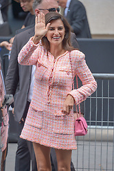 Penelope Cruz arriving at the Chanel show during Haute Couture Paris Fashion Week Fall/Winter 2018/19 in Paris, France on July 03, 2018. Photo by Julien Reynaud/APS-Medias/ABACAPRESS.COM