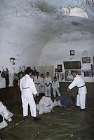 Norwegian judo trainers visiting Kabul, Afghanistan, as a part of tha Judo for fred (Judo for peace) program....- ....Norske judotrenere på besøk i Kabul, Afghanistan, ifm Judo for fred (JFF)....Judo boys outside their dojo....-....Judogutter utenfor dojoen