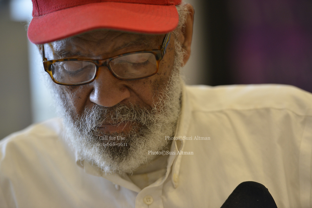 """6/10/2020 Jackson MS. <br /> Pastor Robert West,  gifted James Meredith, the first black man to attend the University of Ole Miss,  his new """" New Miss """" baseball hat about a year ago. He said """"The day James Meredith stepped onto the campus of The University of Mississippi  it was no longer """"Ole Miss""""  it ceased to exist. It was now """"New Miss"""" and Meredith should never promote the old Miss. Meredith didn't wear the hate at first, for months, because he was mad he hadn't thought of the slogan,  """"New Miss."""" Meredith now wears the """" New Miss"""" hat most days and feels Mississippi is the center of the universe and that if change is coming, and it is, It will start here first in Mississippi. <br /> The  54th Anniversary of Meredith's March Against Fear, was June 5th, and with the recent murder of another black man, George Floyd at the knees and hands of 4 former Minneapolis Minnesota police officers. Meredith's March is even more relevant now.  Meredith went on to say """"  He believes Mississippi is the most important and powerful word in the English language."""" Meredith also said he failed his race. Meredith  has completed 2 of his 3 missions from God. The first was to break the white supremacy barrier at The University of Mississippi- he did this in 1962- Kennedy used the Insurrection Act to ensure Meredith's  safety to enroll on campus. <br /> Meredith's second mission - was his March Against Fear, June of 1966. He planned to march from Memphis to Jackson Mississippi. <br /> Meredith was shot on the second day of his march by Aubrey James Norvell a member of the KKK. Norvell would later be the first white man convicted of shooting an African American in Mississippi history. His 3rd and last mission he says is his most important. Meredith will be 87 June 25th and is now embarking on his last mission from God. It is  is to heal racial divisions through honest dialogue and to foster good moral character in today's youth. Protests have broken out around the world in response to"""