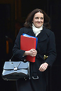 © Licensed to London News Pictures. 05/03/2013. Westminster, UK Northern Ireland Secretary Theresa Villiers. Ministers after a Cabinet Meeting at number 10 Downing Street on 5th March 2013. Photo credit : Stephen Simpson/LNP