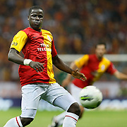 Galatasaray's Emmanuel EBOUE during their Turkish Super League soccer match Galatasaray between Samsunspor at the Turk Telekom Arena at Seyrantepe in Istanbul Turkey on Sunday, 18 September 2011. Photo by TURKPIX