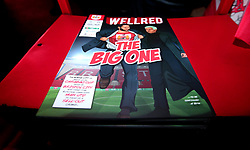 Bristol City match day programme for the Carabao Cup Quarter Final tie against Manchester United - Mandatory by-line: Robbie Stephenson/JMP - 20/12/2017 - FOOTBALL - Ashton Gate Stadium - Bristol, England - Bristol City v Manchester United - Carabao Cup Quarter Final