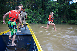 Rachel Streich Jumping Into The River, Tiputini