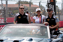 October 21, 2018 - Gold Coast, QLD, U.S. - GOLD COAST, QLD - OCTOBER 21: David Reynolds and Luke Youlden in the Erebus Penrite Racing Holden Commodore during the parade lap at The 2018 Vodafone Supercar Gold Coast 600 in Queensland, Australia. (Photo by Speed Media/Icon Sportswire) (Credit Image: © Speed Media/Icon SMI via ZUMA Press)