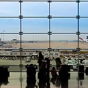 Paris Charles de Gaulle international airport, France