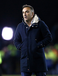 Sheffield Wednesday Manager Carlos Carvalhal - Mandatory by-line: Robbie Stephenson/JMP - 13/05/2016 - FOOTBALL - Hillsborough - Sheffield, England - Sheffield Wednesday v Brighton and Hove Albion - Sky Bet Championship Play-off Semi Final first leg