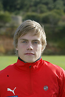 Fotball , 21. februar 2006 ,  Portrett , portretter , Tromsø  , <br /> <br /> Ruben Yttergard Jensen