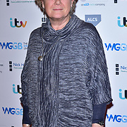 Lisa Evans attends The Writers' Guild Awards at Royal College of Physicians on 15th January 2018.