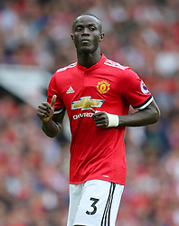 "Manchester United's Eric Bailly during the Premier League match at Old Trafford, Manchester. PRESS ASSOCIATION Photo. Picture date: Sunday August 13, 2017. See PA story SOCCER Man Utd. Photo credit should read: Richard Sellers/PA Wire. RESTRICTIONS: EDITORIAL USE ONLY No use with unauthorised audio, video, data, fixture lists, club/league logos or ""live"" services. Online in-match use limited to 75 images, no video emulation. No use in betting, games or single club/league/player publications."