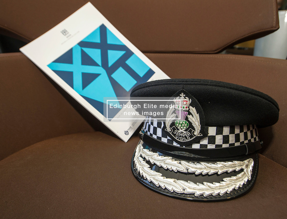 Pictured: <br /> At Police Scotland HQ at Fettes Row in Edinburgh today , Chief Constable Phil Gormley and Scottish Police Authority (SPA) Chairman Andrew Flanagan launched a long-term strategy for policing and a public consultation to help shape it.  <br /> <br /> Ger Harley | EEm 27 February 2017